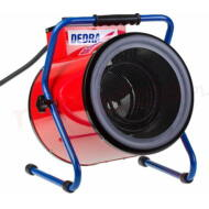 DEDRA Hengeralakú elektromos hőlégfúvó 2500/5000 W, 400 V, DED9933