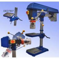 Dedra oszlopos fúrógép 450W DED 7807