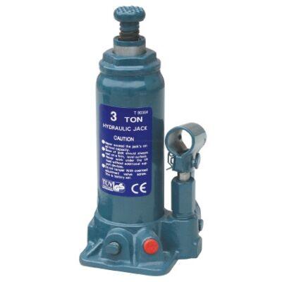 Hidraulikus palack emelő, 3 t