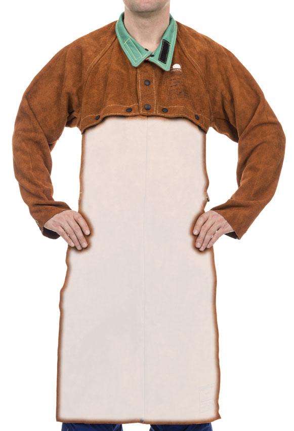 33ab467169 Lava Brown™ hasított tehénbőrből FELSŐRÉSZ - Hegesztő kabátok